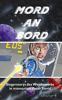 "Cover des Siegerbandes ""Mord an Bord"""